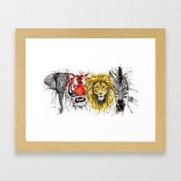 Animal Magic Framed Art Print