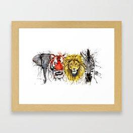 Animal Magic Framed Art Print