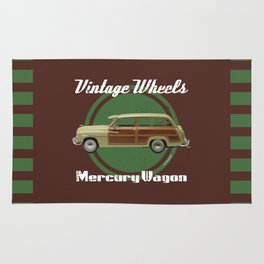 Vintage Wheels: Mercury Wagon Rug