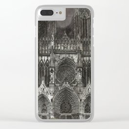 Cathedral Storm Clear iPhone Case