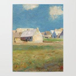 "Odilon Redon ""Breton Village"" Poster"
