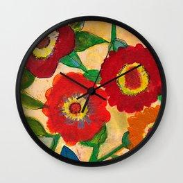 park flower1 Wall Clock
