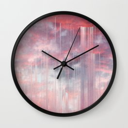 Kiss the Rain Wall Clock