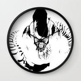 Aliens Wall Clock