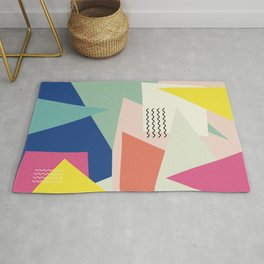 Shapes and Waves Rug