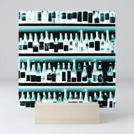 Wine Bottles - version 2 #decor #buyart #society6 Mini Art Print