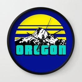 Oregon 1975 Wall Clock