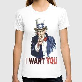 Uncle Sam I Want You T-shirt