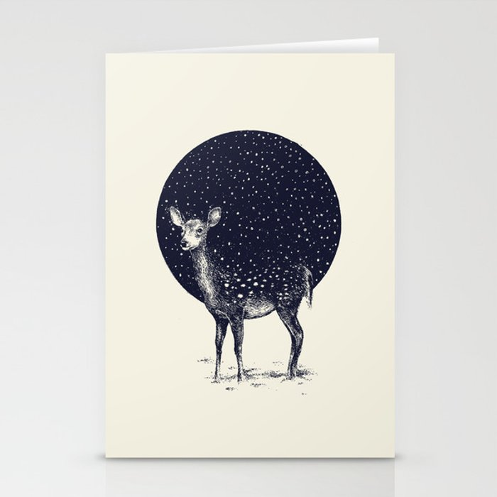 Snow Flake Stationery Cards