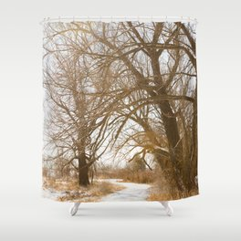 Go for a hike Shower Curtain