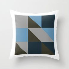 #149 United shapes of geometry – Geometry Daily Throw Pillow