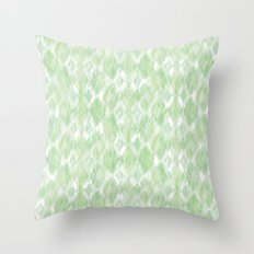 Harlequin Marble Mix Greenery Throw Pillow
