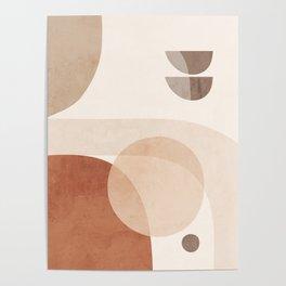 Abstract Minimal Shapes 16 Poster