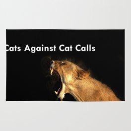 Cats Against Cat Calls - ROAR Rug