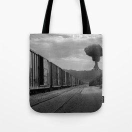 Nuke Train Tote Bag