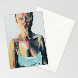 Portrait of Danielle Jacobson Stationery Cards