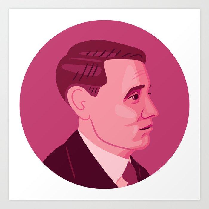 Queer Portrait - Willem Arondeus Art Print