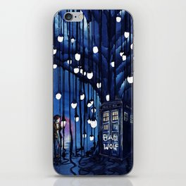 Doctor Who Journey iPhone Skin