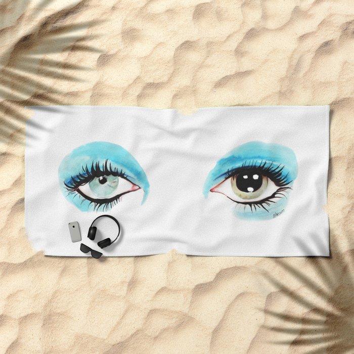 Bowie - Life on Mars? Beach Towel