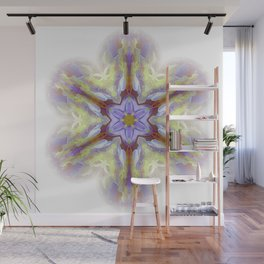 snowflake for good day Wall Mural