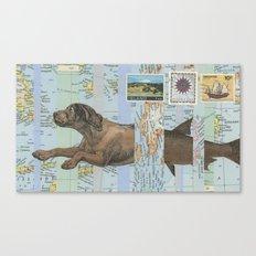 Legend of the Merdog Canvas Print