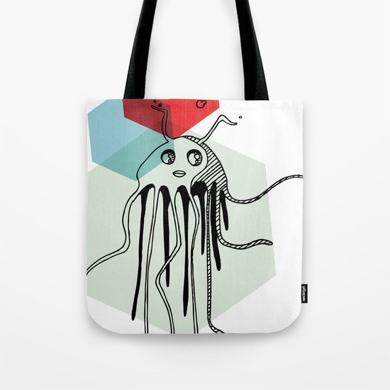 Squiggy Tote Bag
