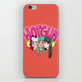 Team Hot-Gum iPhone Skin