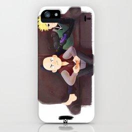 Domestic Saitama & Genos iPhone Case
