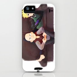 Domestic Saitama & Genos iPhone Case