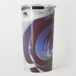 Lens SLR camera on perforation film Travel Mug