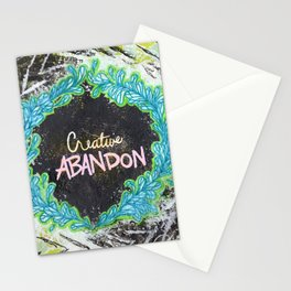 Creative Abandon Stationery Cards