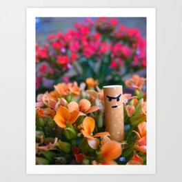I am a Flower Art Print