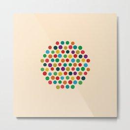 Circles Circle Metal Print