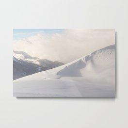 Mountain ridges landscape Metal Print