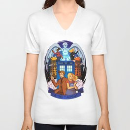 Doctor Who - Allons-y Alonso ! Unisex V-Neck