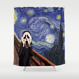 Scream Scary movie Shower Curtain