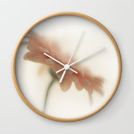 Touch of pink 2 Wall Clock