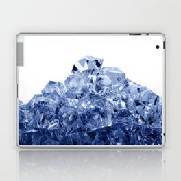Mountain made of crushed ice, isolated on white background Laptop & iPad Skin