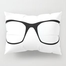 Pair Of Optical Glasses Pillow Sham