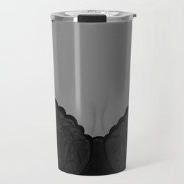Beautiful Silhouette. Lingerie Model Original Painting by Jodi Tomer. Travel Mug