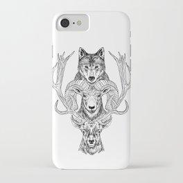 Wolfram & Hart iPhone Case