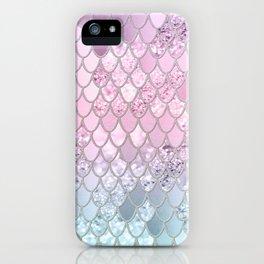 Mermaid Glitter Scales #2 #shiny #decor #art #society6 iPhone Case