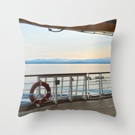 On Desk Throw Pillow