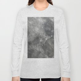 Moon closeup Long Sleeve T-shirt