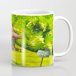 Old Cabin, Blue Ridge Mountains Coffee Mug