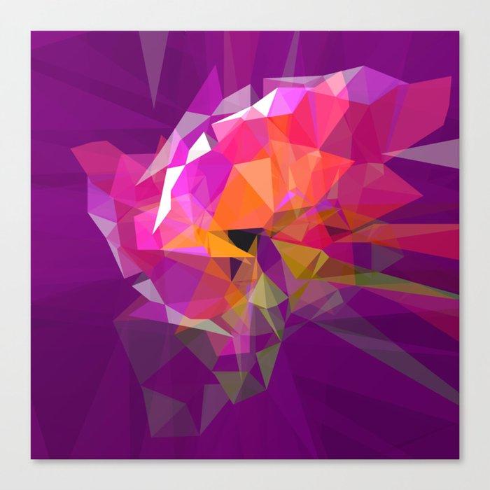 polygone attack Canvas Print