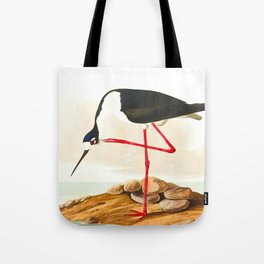 Long-legged Avocet Tote Bag