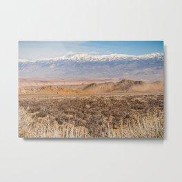 Sierran Layers Metal Print