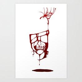 Blood of Ghouls Art Print
