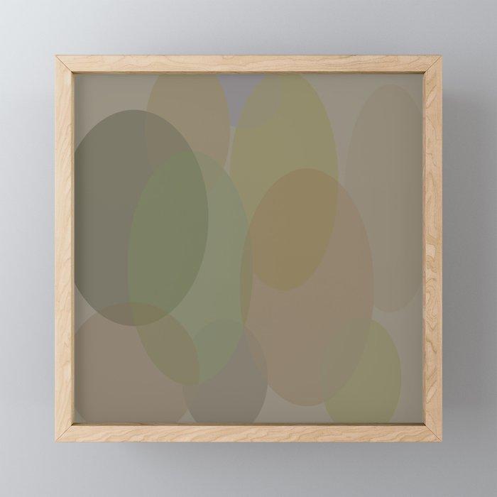 Egg Shaped Framed Mini Art Print